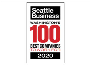 Seattle Business - Washingtons 100 Best Companies to Work For 2020