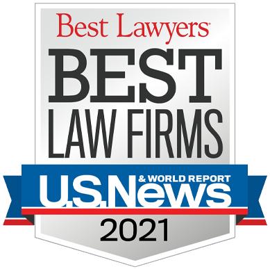 Best Lawyers Best Law Firms 2021 - U.S. News & World Report